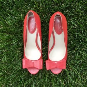Studio Paolo Coral Shimmer Heels